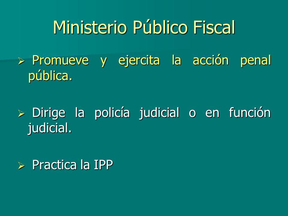 Ministerio Público Fiscal