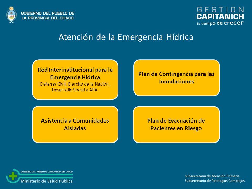 Atención de la Emergencia Hídrica