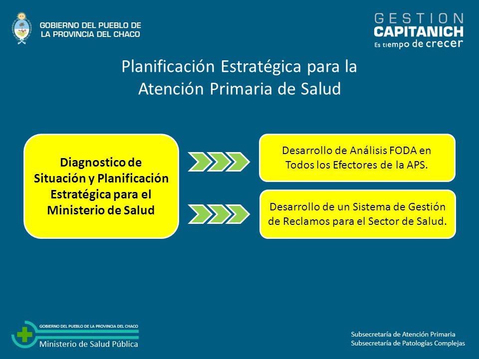 Planificación Estratégica para la Atención Primaria de Salud