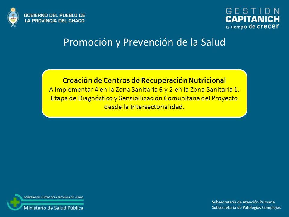 Creación de Centros de Recuperación Nutricional