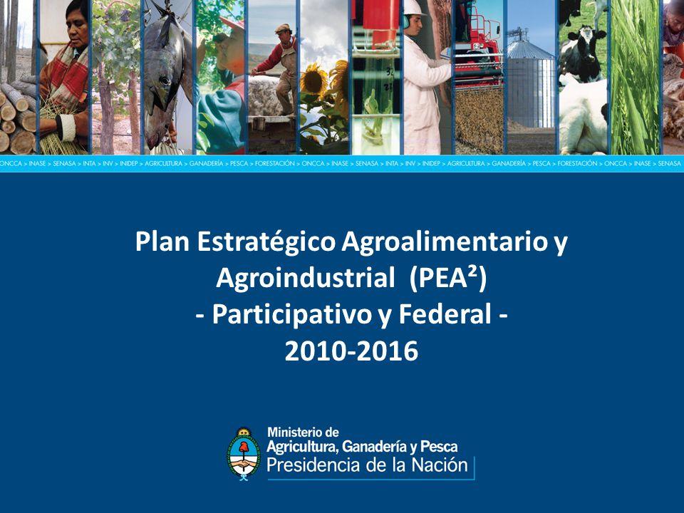 Plan Estratégico Agroalimentario y Agroindustrial (PEA²)