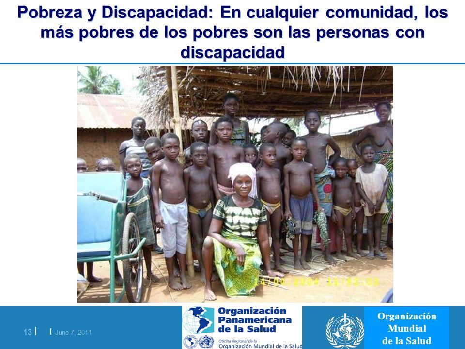 Pobreza y Discapacidad: En cualquier comunidad, los más pobres de los pobres son las personas con discapacidad