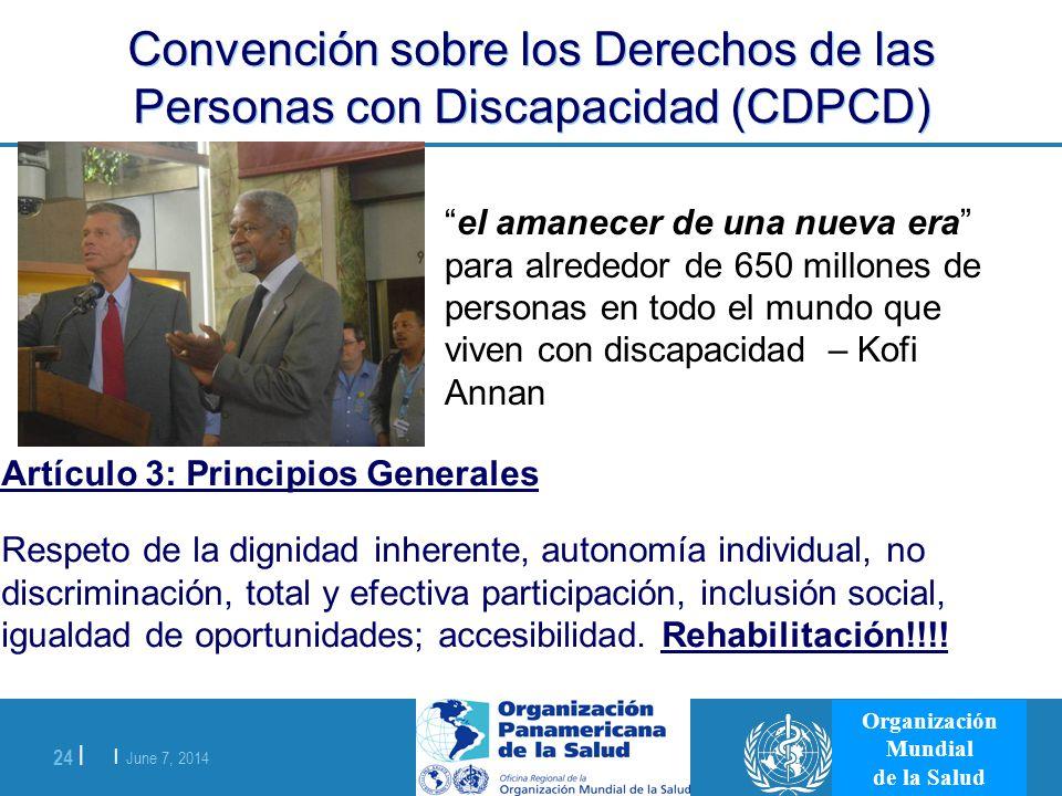 Convención sobre los Derechos de las Personas con Discapacidad (CDPCD)