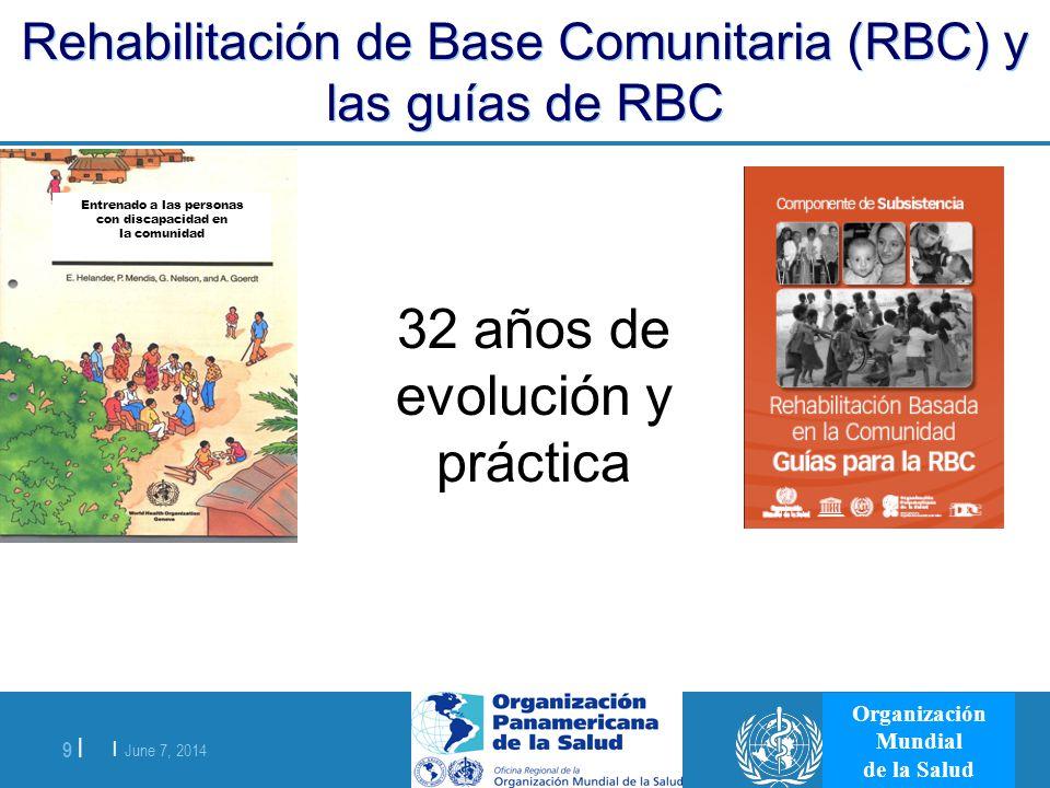 Rehabilitación de Base Comunitaria (RBC) y las guías de RBC