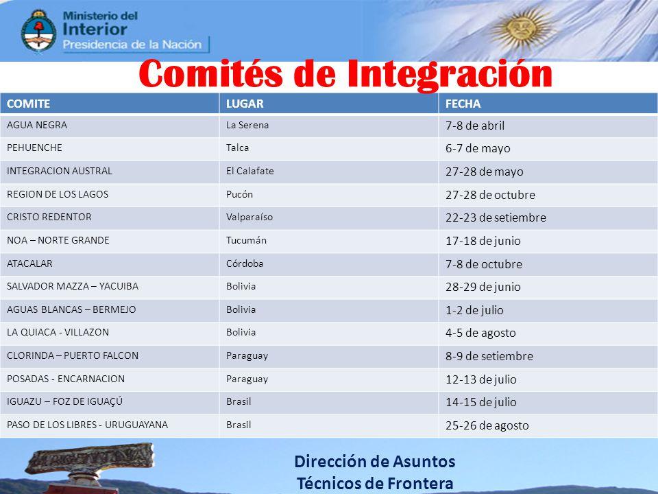Comités de Integración