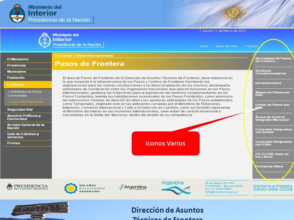 Dirección de Asuntos Técnicos de Frontera