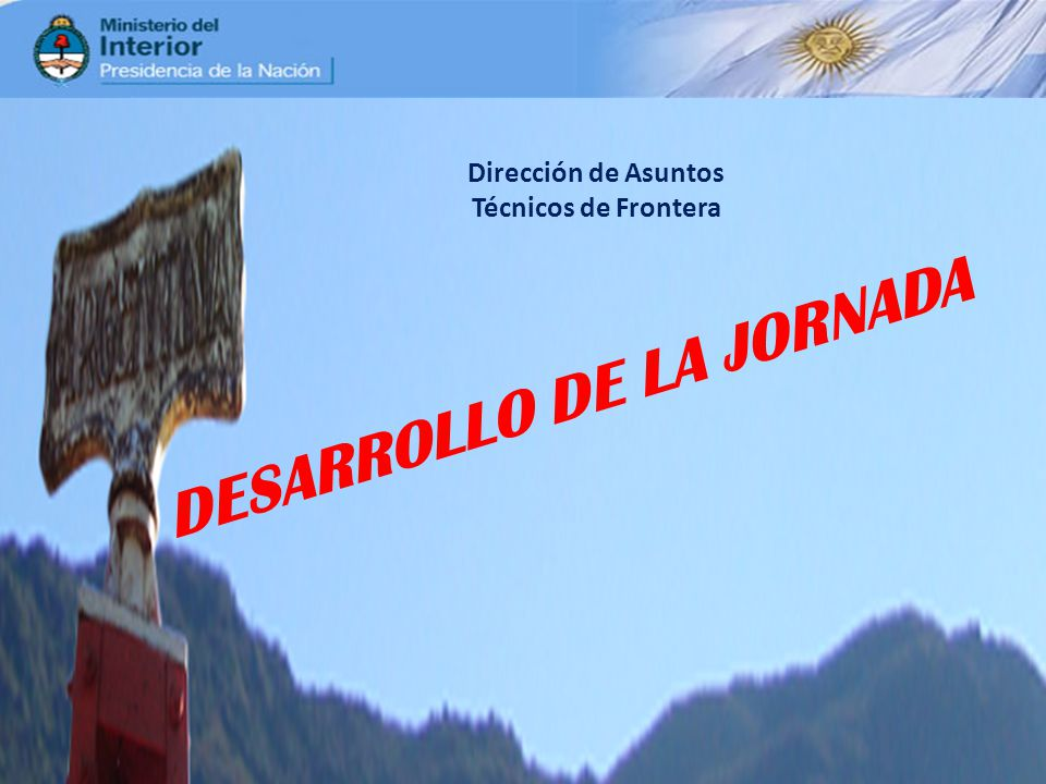 DESARROLLO DE LA JORNADA