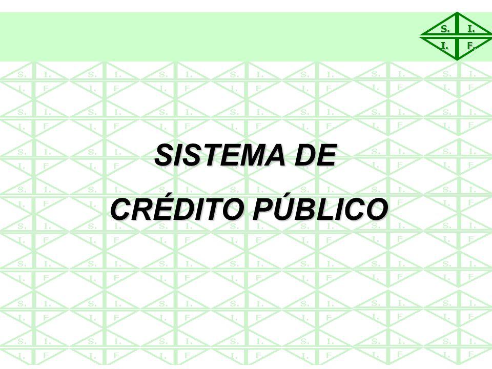SISTEMA DE CRÉDITO PÚBLICO