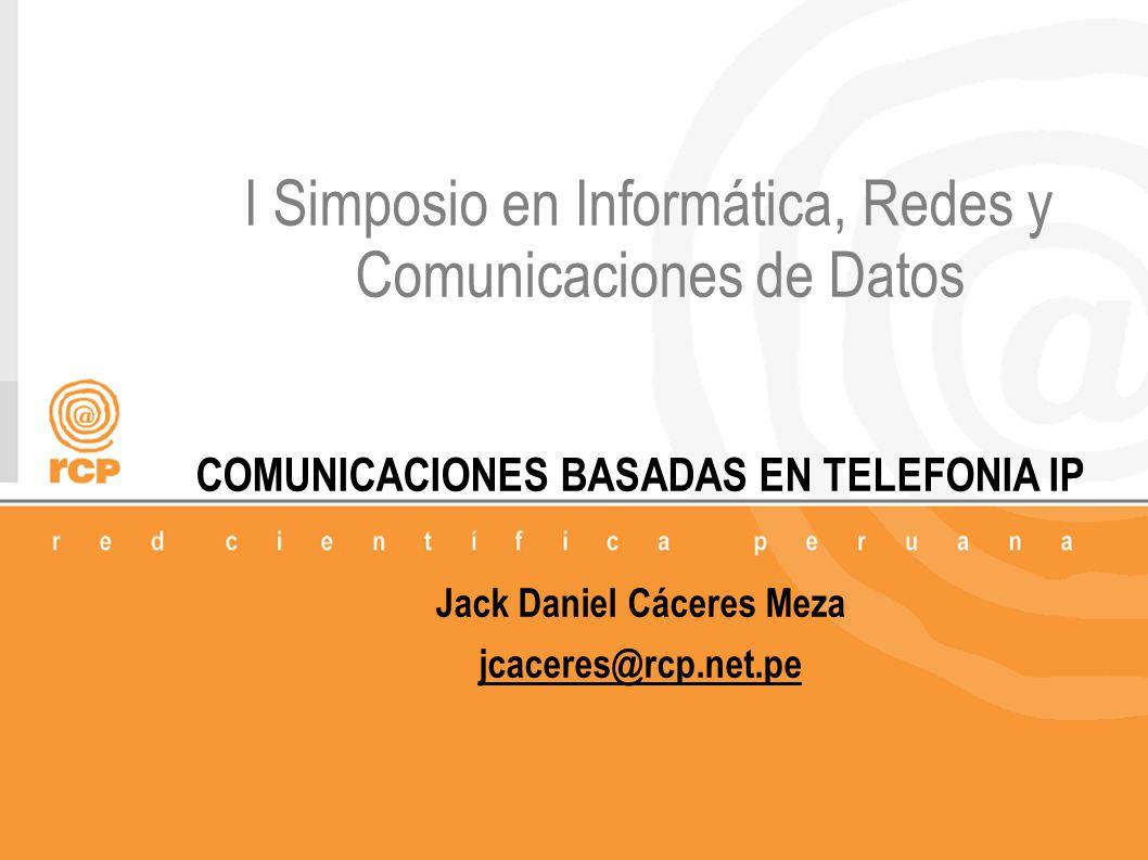 I Simposio en Informática, Redes y Comunicaciones de Datos