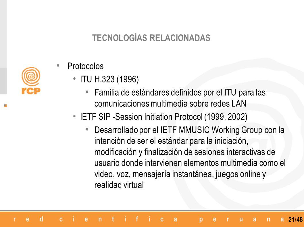 TECNOLOGÍAS RELACIONADAS