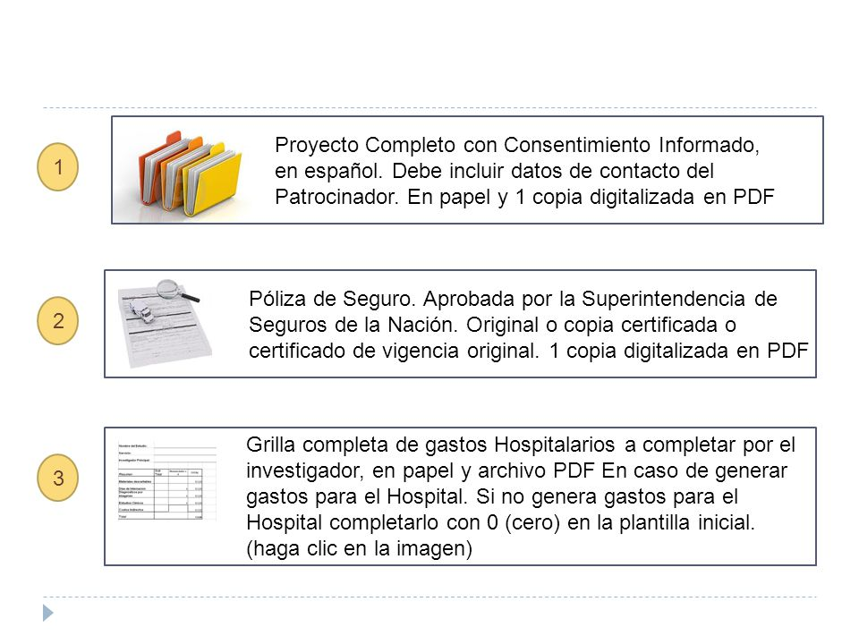 Proyecto Completo con Consentimiento Informado, en español