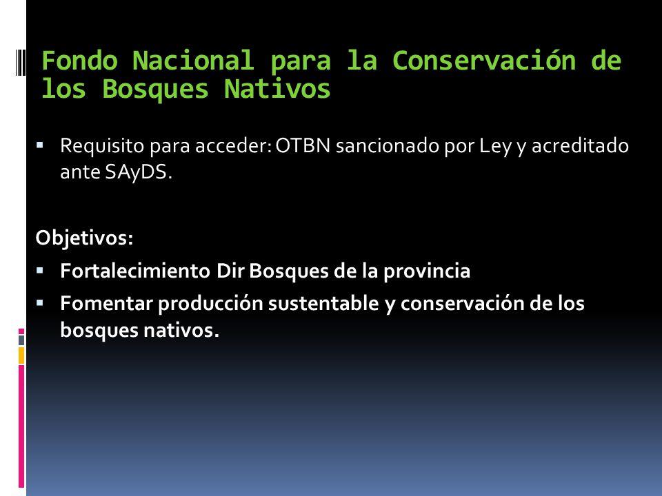 Fondo Nacional para la Conservación de los Bosques Nativos
