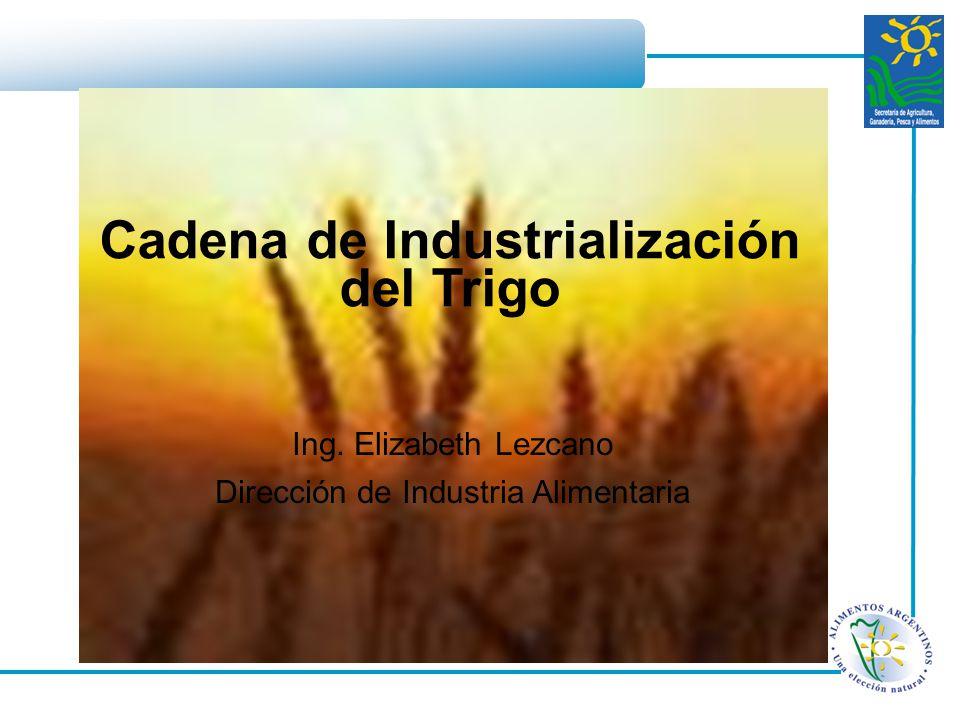 Cadena de Industrialización del Trigo