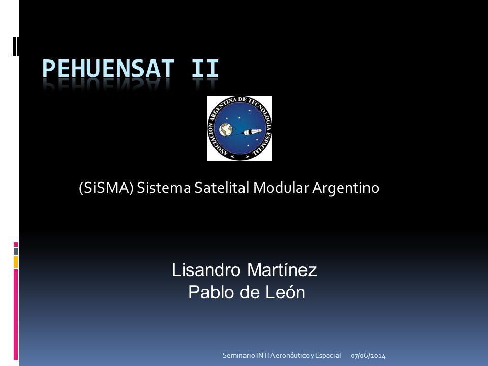 (SiSMA) Sistema Satelital Modular Argentino