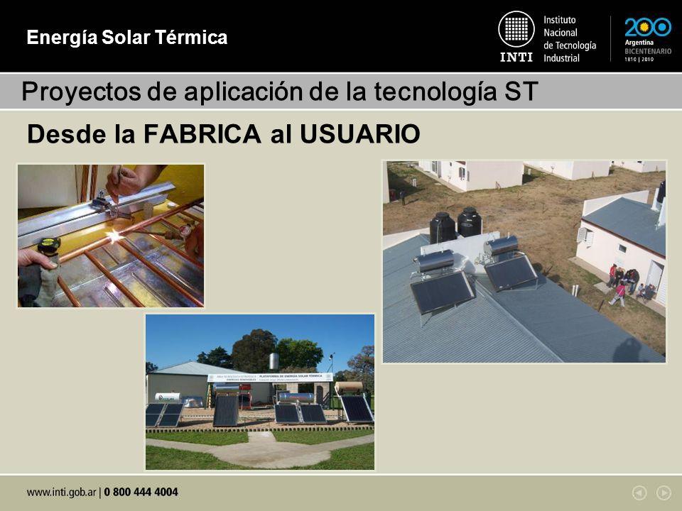 Proyectos de aplicación de la tecnología ST