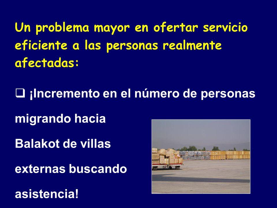 Un problema mayor en ofertar servicio eficiente a las personas realmente afectadas:
