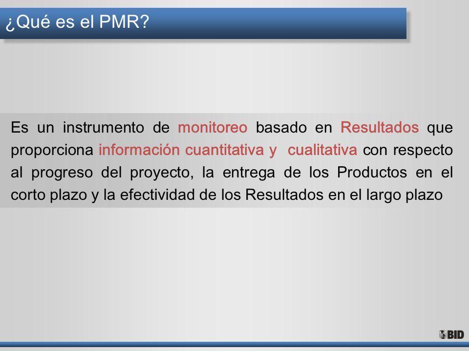 ¿Qué es el PMR