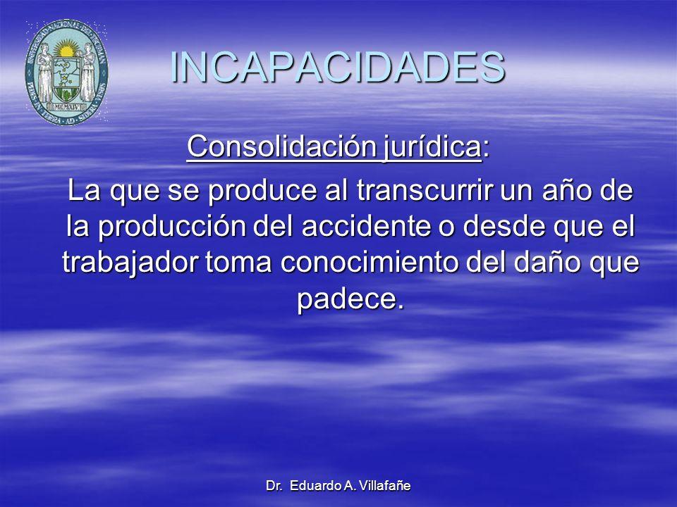 Consolidación jurídica: