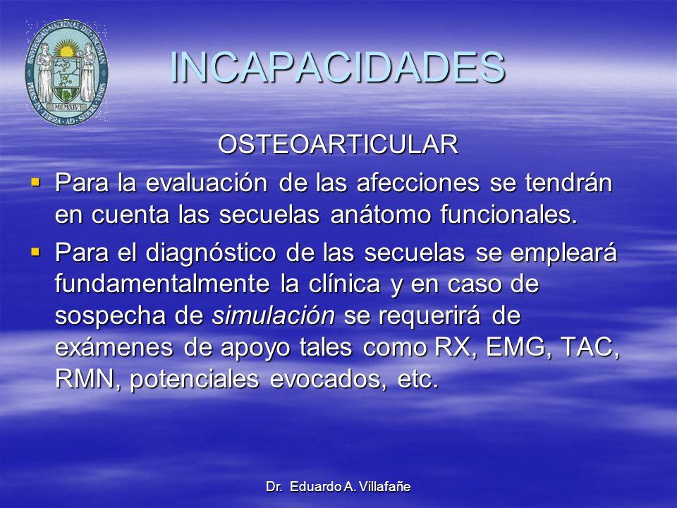 INCAPACIDADES OSTEOARTICULAR