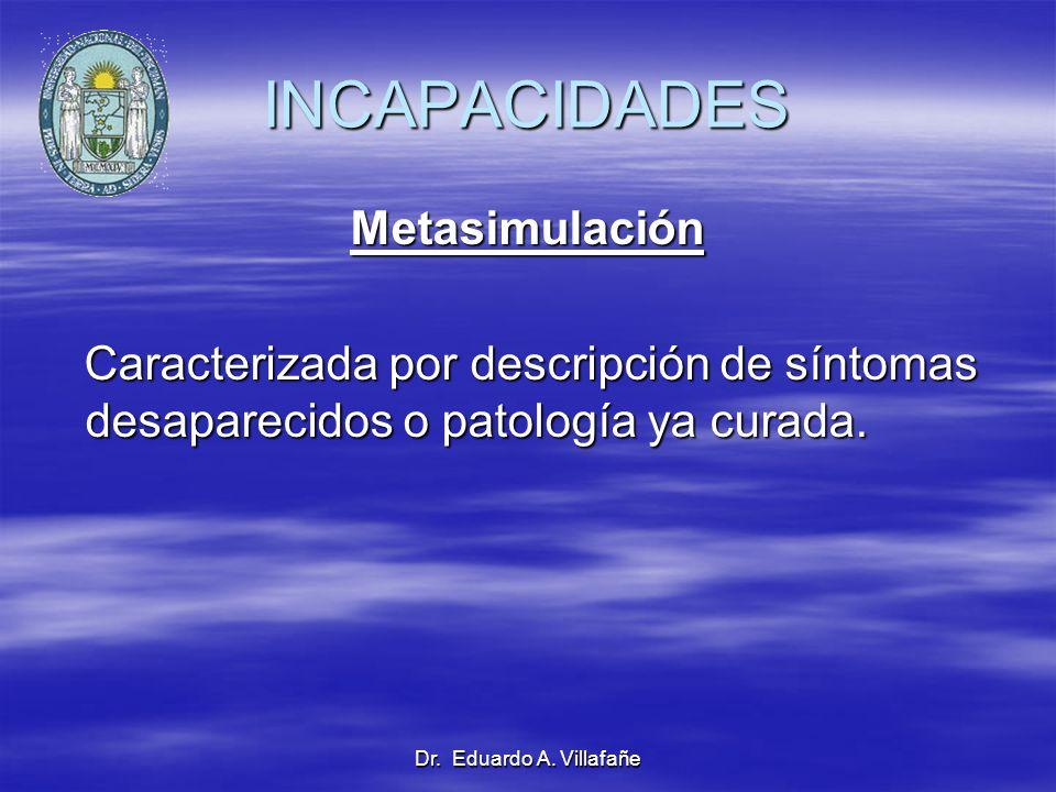 INCAPACIDADES Metasimulación