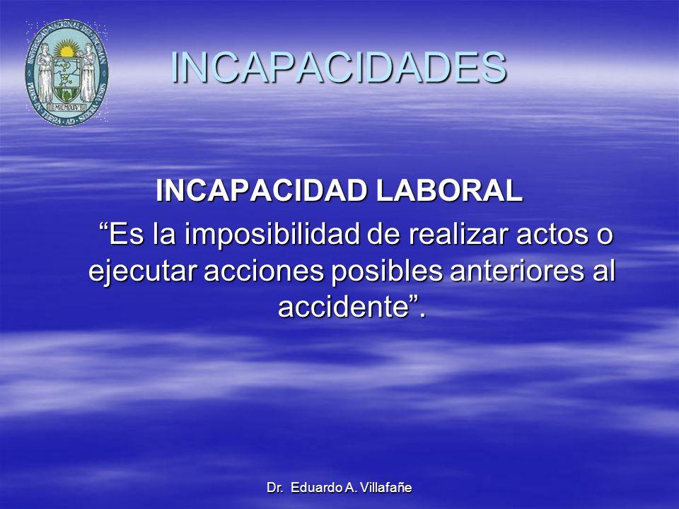 INCAPACIDADES INCAPACIDAD LABORAL