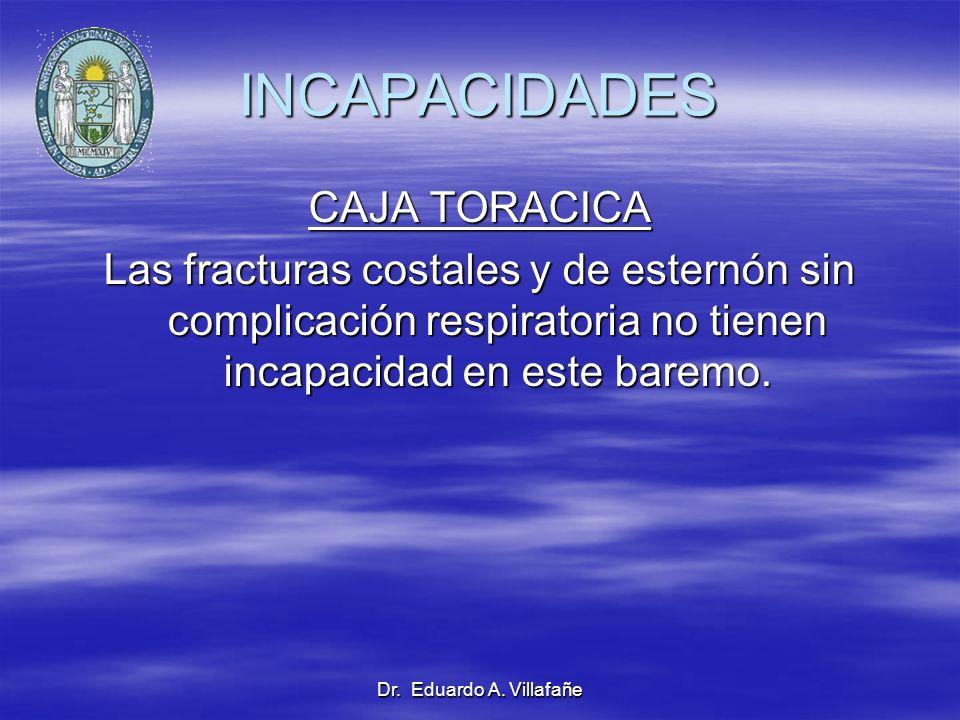 INCAPACIDADES CAJA TORACICA