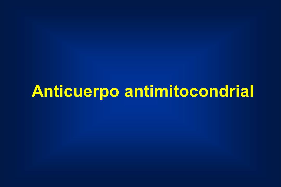 Anticuerpo antimitocondrial