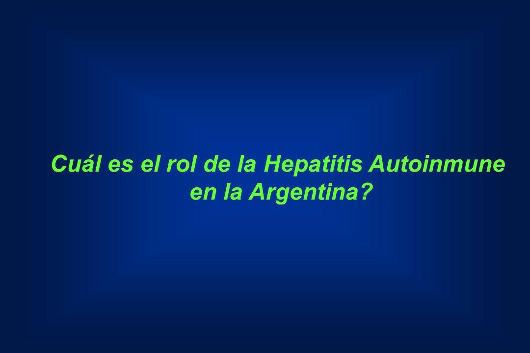 Cuál es el rol de la Hepatitis Autoinmune