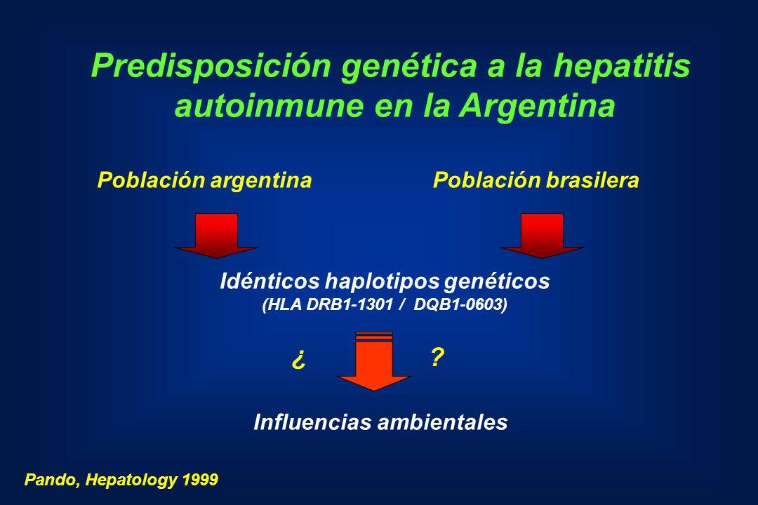 Predisposición genética a la hepatitis autoinmune en la Argentina