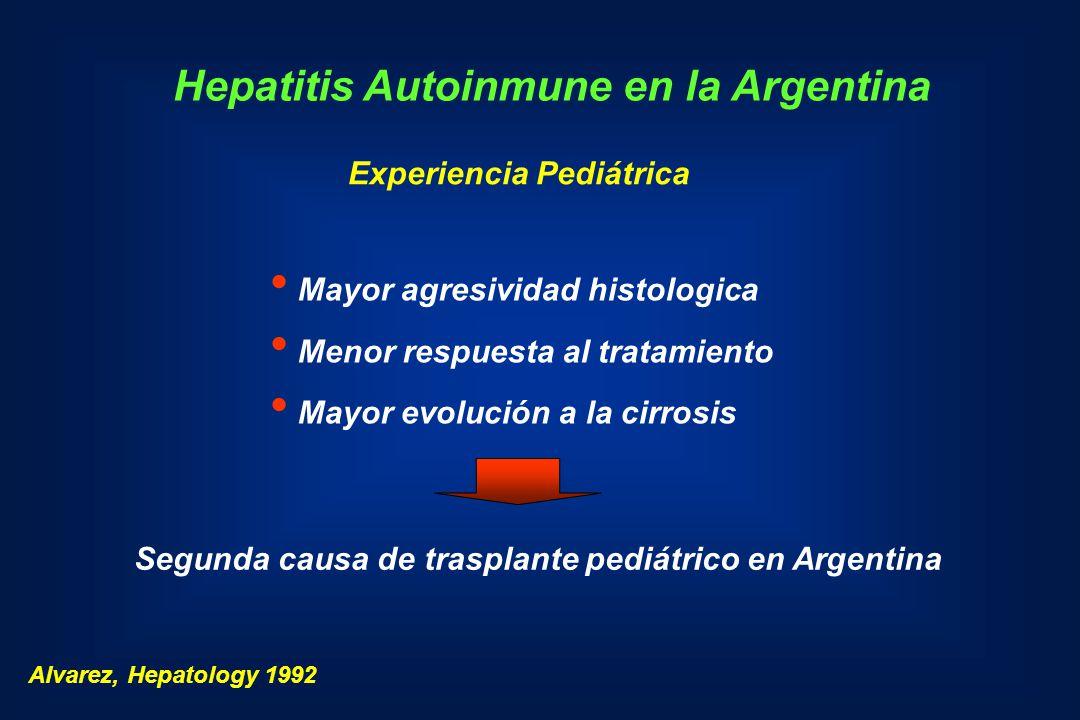 Hepatitis Autoinmune en la Argentina