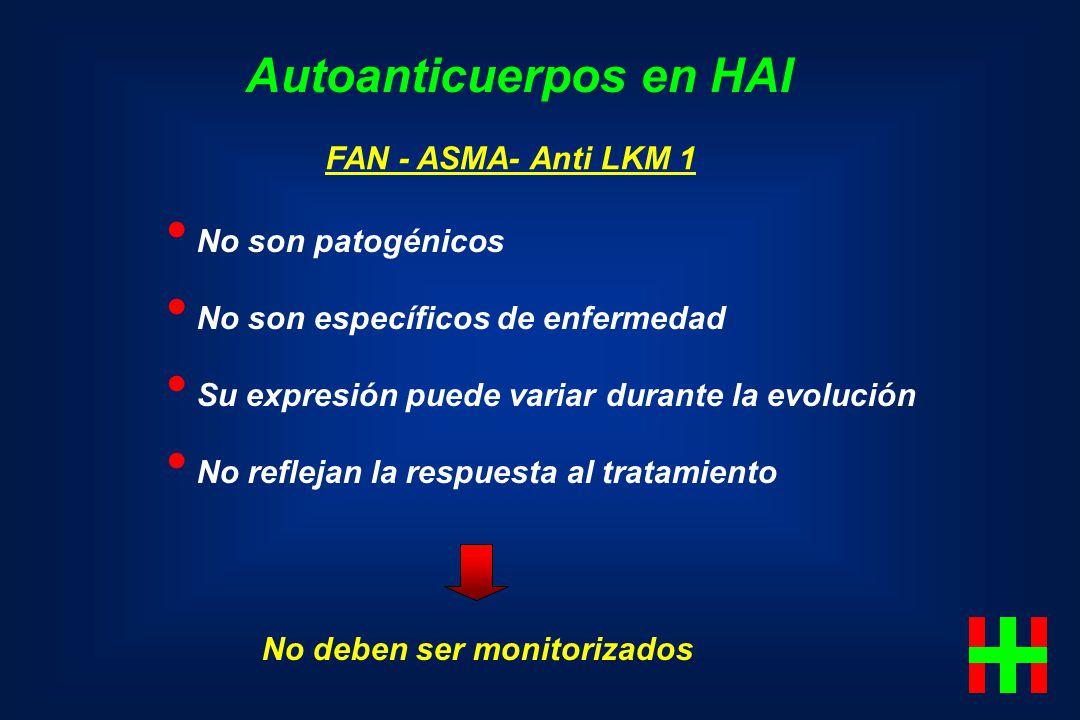 Autoanticuerpos en HAI