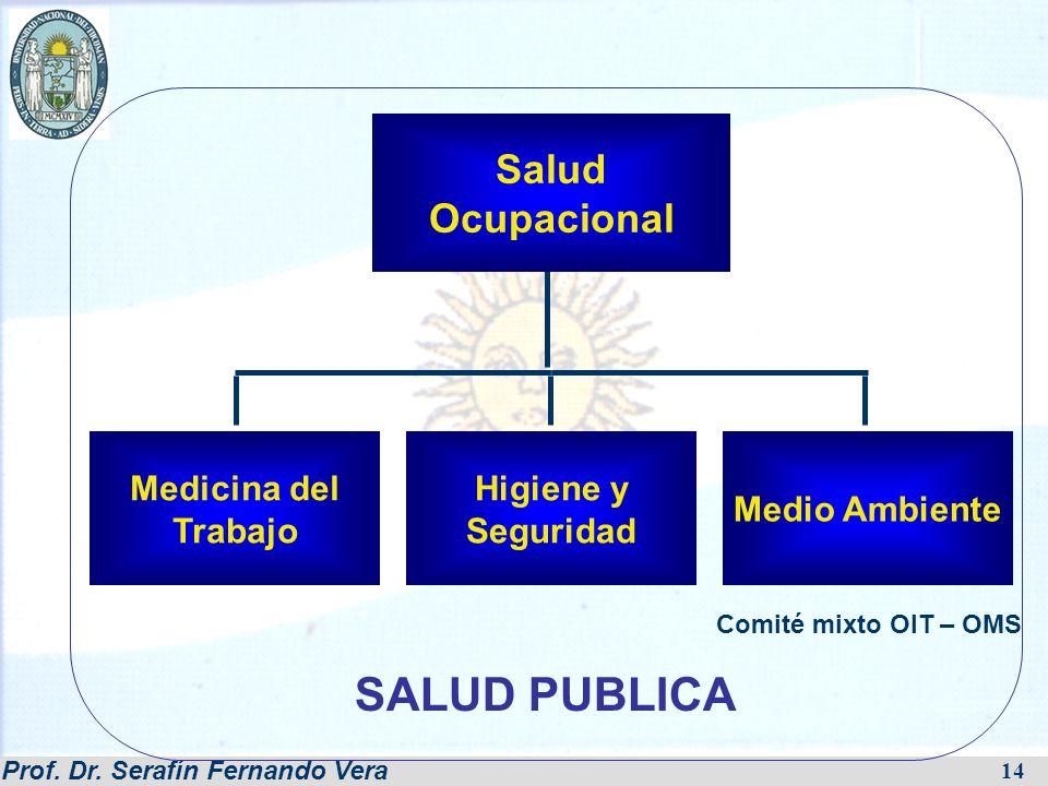SALUD PUBLICA Salud Ocupacional Medicina del Trabajo