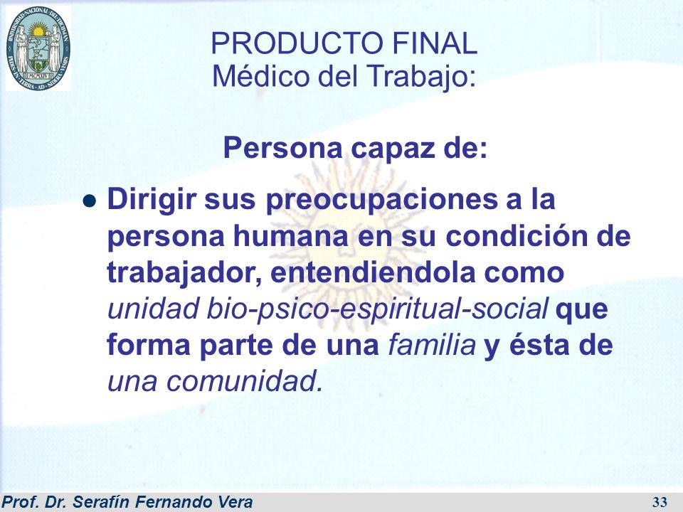 PRODUCTO FINAL Médico del Trabajo: