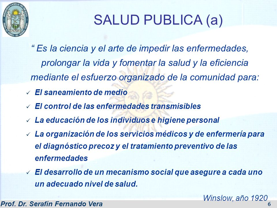 SALUD PUBLICA (a)