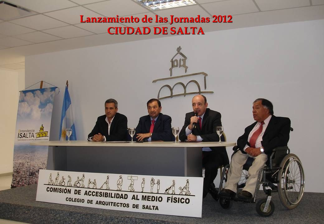Lanzamiento de las Jornadas 2012