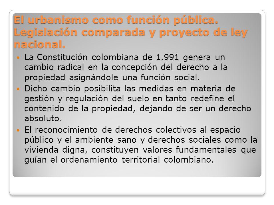 El urbanismo como función pública