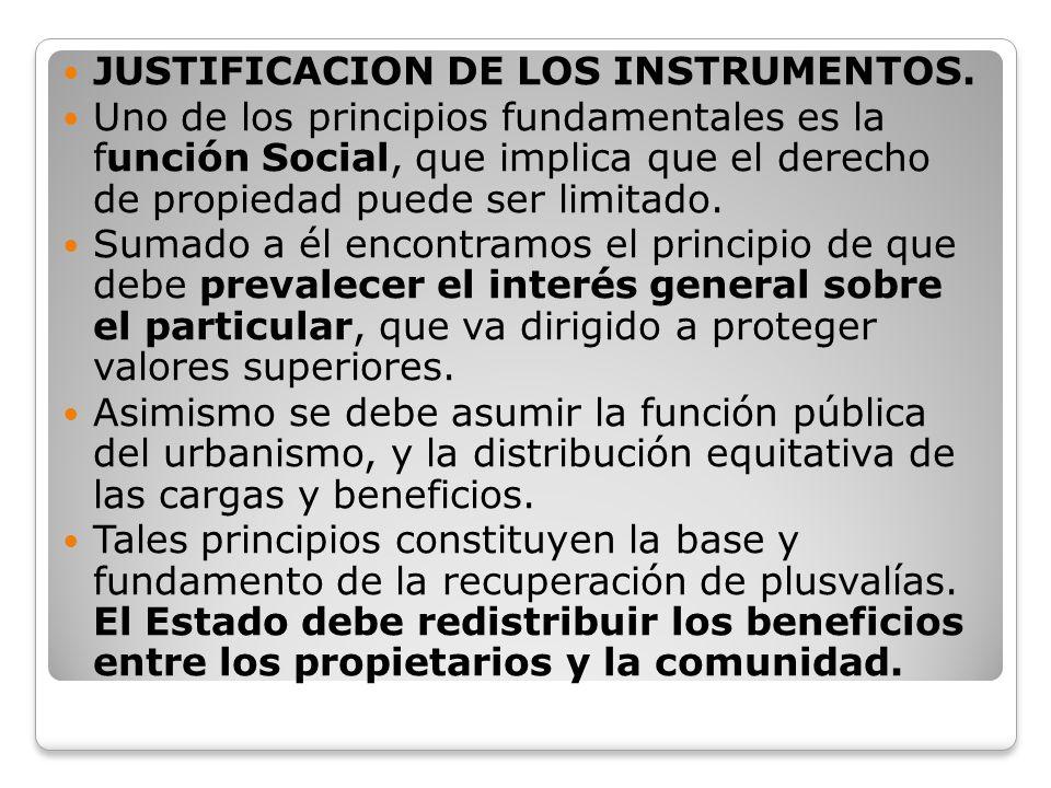 JUSTIFICACION DE LOS INSTRUMENTOS.