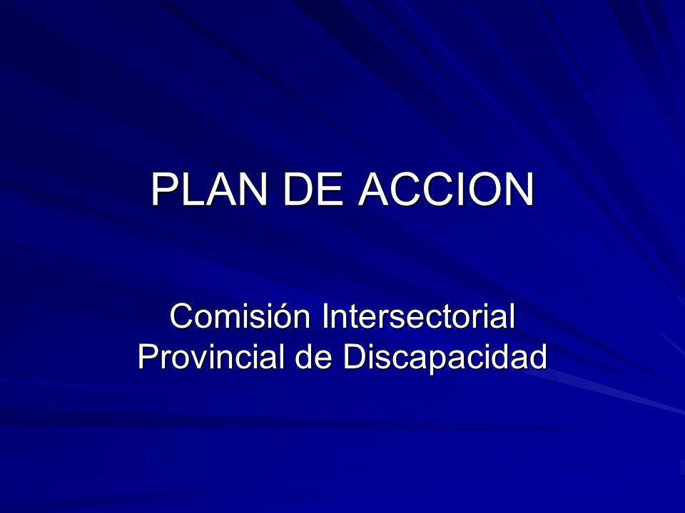 Comisión Intersectorial Provincial de Discapacidad