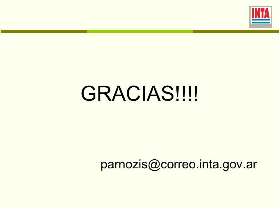 GRACIAS!!!! parnozis@correo.inta.gov.ar