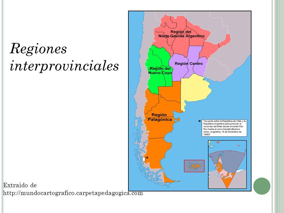 Regiones interprovinciales