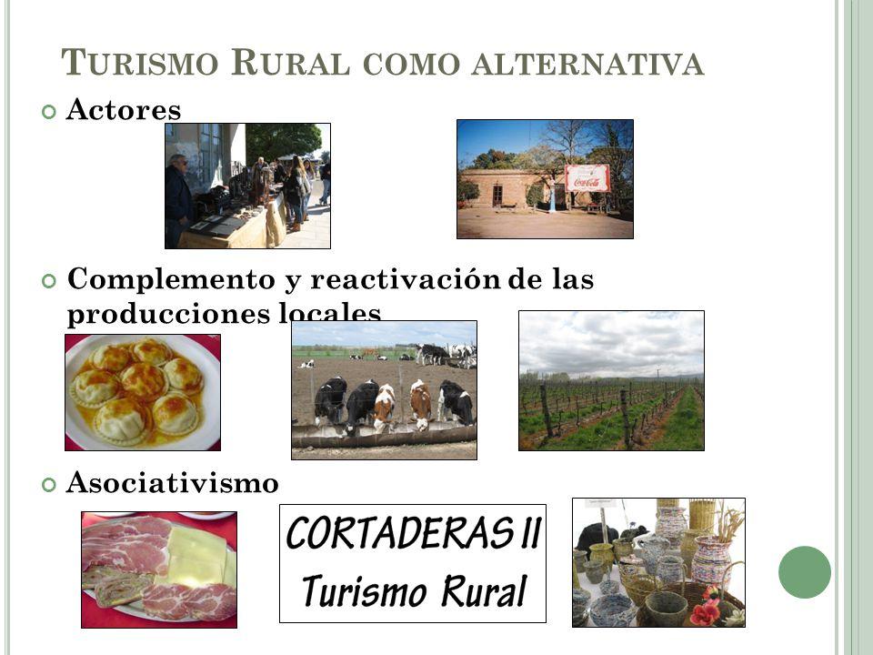 Turismo Rural como alternativa