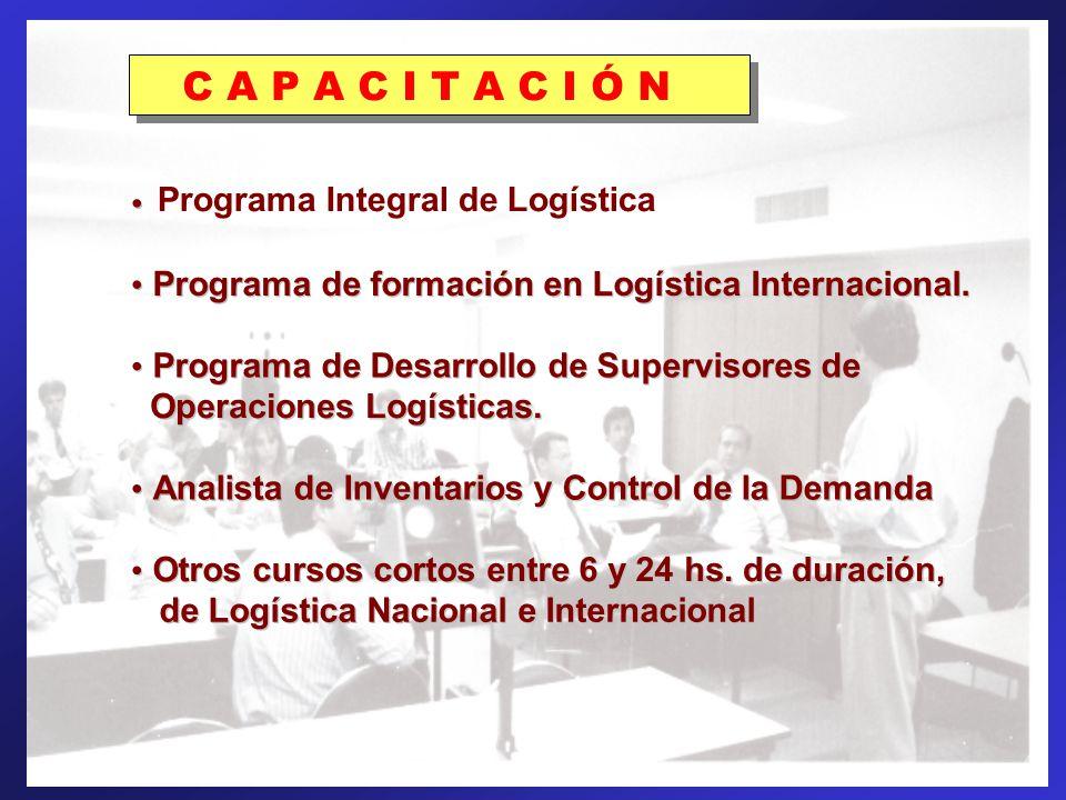 PROGRAMAS DE FORMACIÓN: