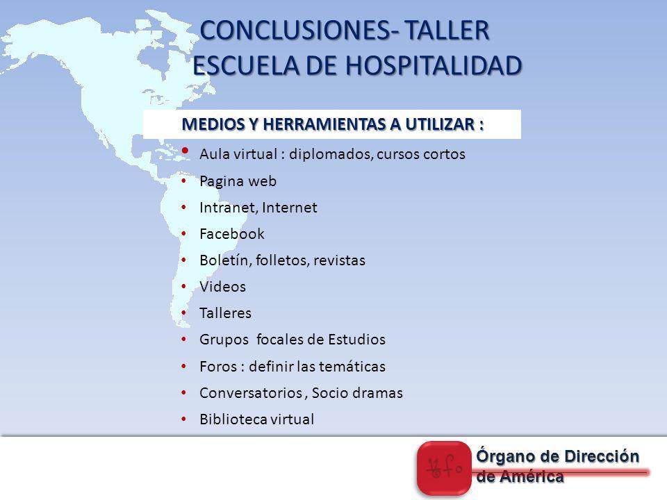 MEDIOS Y HERRAMIENTAS A UTILIZAR :