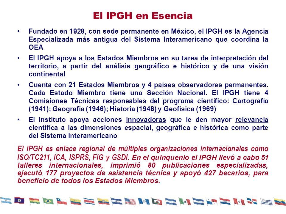 El IPGH en Esencia