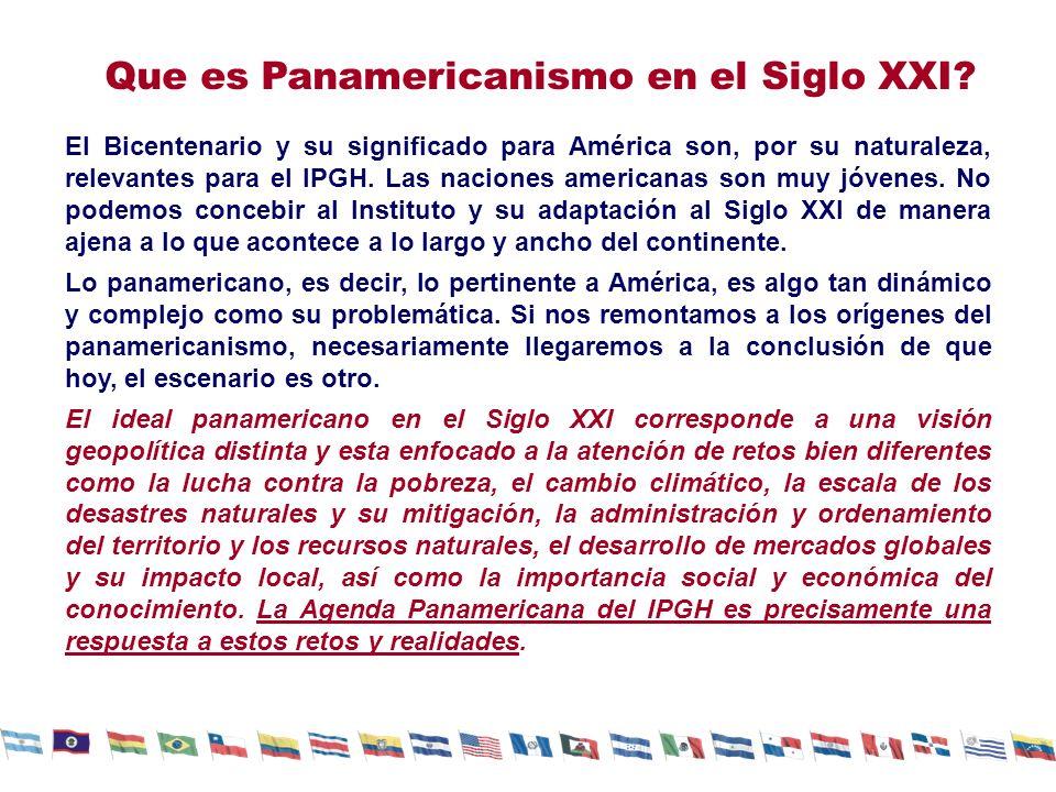 Que es Panamericanismo en el Siglo XXI