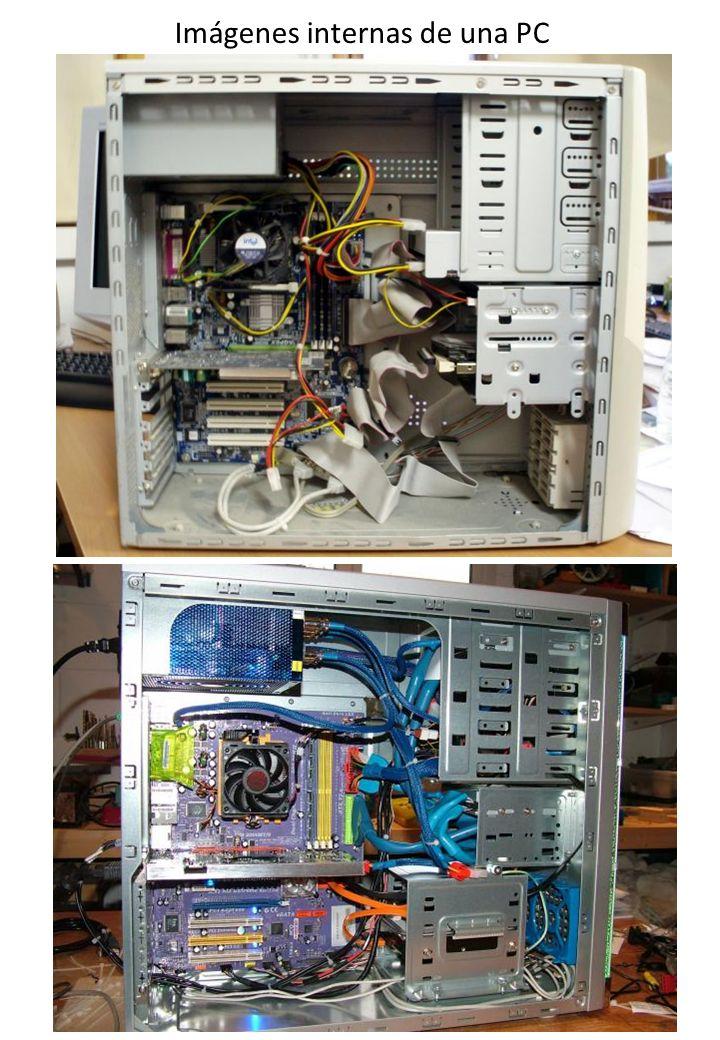 Imágenes internas de una PC
