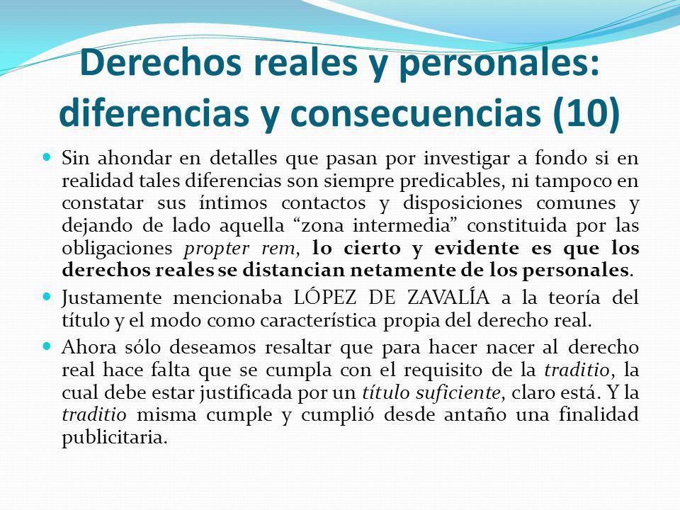 Derechos reales y personales: diferencias y consecuencias (10)