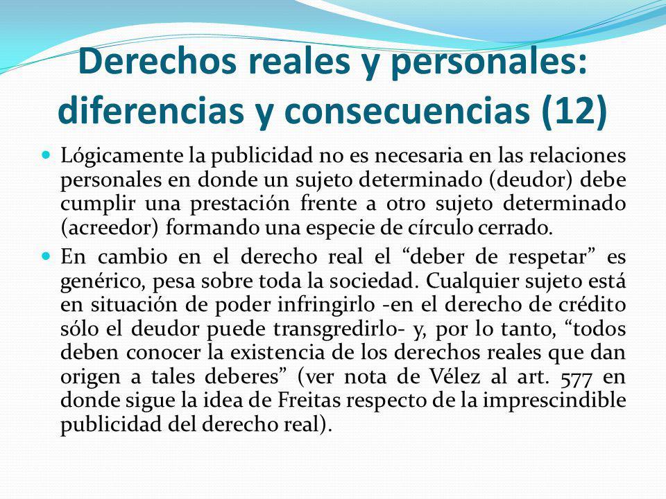 Derechos reales y personales: diferencias y consecuencias (12)