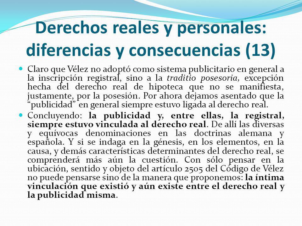 Derechos reales y personales: diferencias y consecuencias (13)
