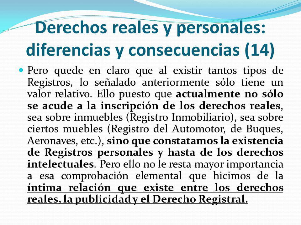 Derechos reales y personales: diferencias y consecuencias (14)
